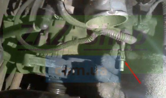 Щеточный узел генератора нексия